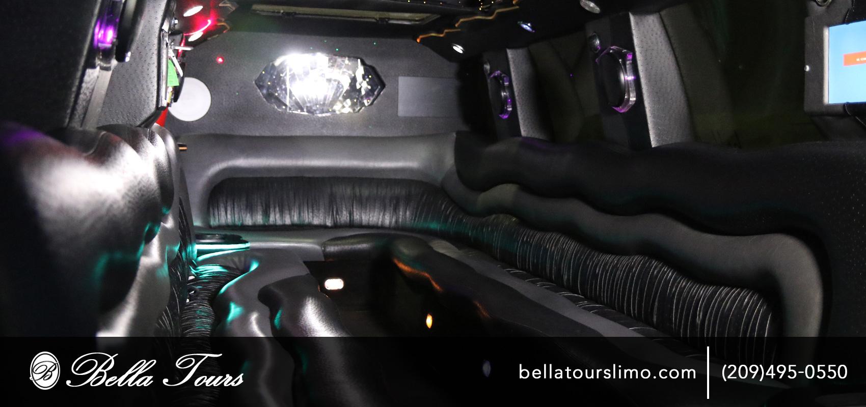 Bella Tour Escalade Interior